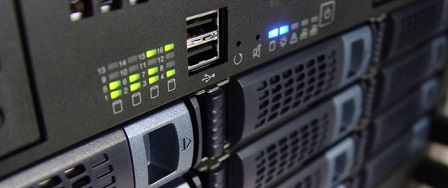 rackservers in datacenter
